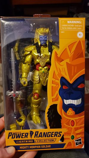 Goldar lightning collection for Sale in Louisville, KY
