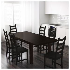IKEA extendable kitchen table w/plastic chairs for Sale in Emeryville, CA