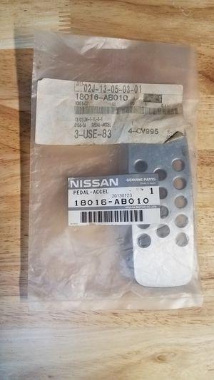 NEW Aluminum Gas Pedal Nissan 350z/Infiniti G35 for Sale in Orange, CA