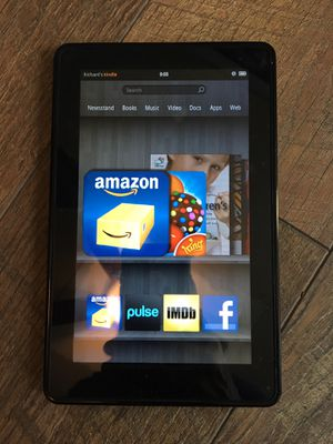 Kindle Fire 7inch 8gb 1st edition for Sale in Virginia Beach, VA