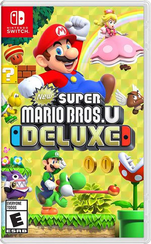 Super Mario bros u deluxe for nintendo switch for Sale in Fresno, CA