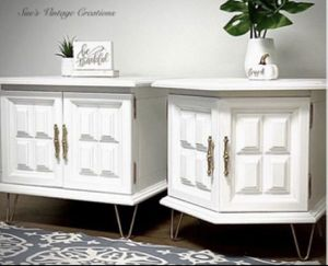 Beautiful Vintage Tables/Nightstands/End Cabinets for Sale in Chino, CA