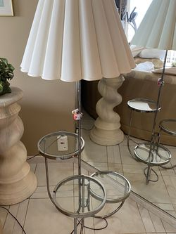 Lamp With 3 Tier Shelf! for Sale in Wenham,  MA