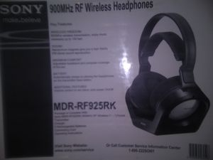 Sony wireless headphones for Sale in Perry, OH
