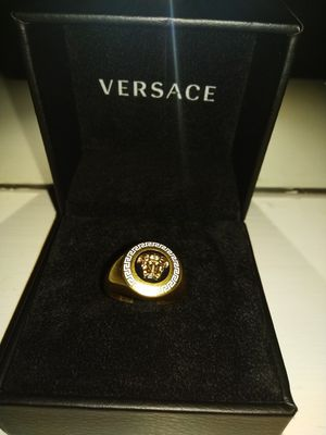 Brand New 2018 19k Versace ring 100% authentic size 9 for Sale in Mount Hope, WV