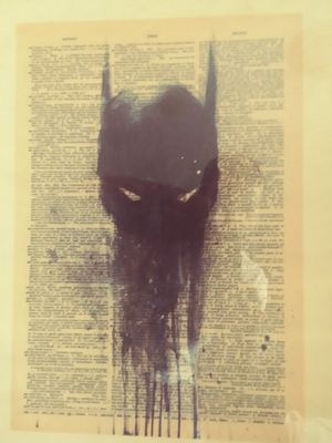 Batman collectable poster w/ glass frame. for Sale in Des Moines, WA