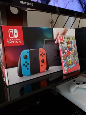 Nintendo Switch Bundle + 7 Games for Sale in San Diego, CA