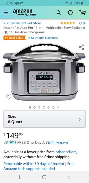 Instant Pot Aura Pro for Sale in Vancouver, WA