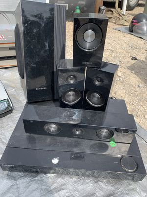 Samsung blue ray entertainment for Sale in Columbus, OH