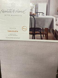 Hearth & Hand Cotton Tablecloth for Sale in San Dimas,  CA