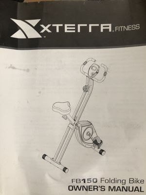 Xterra folding bike (Pecos & Tropical) for Sale in North Las Vegas, NV