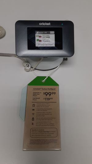 Cricket turbo Hotspot device for Sale in San Angelo, TX
