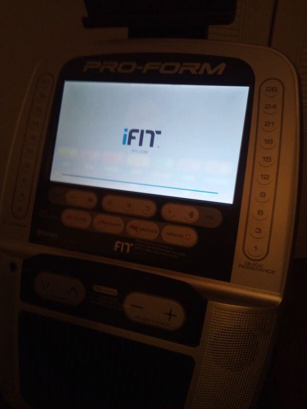 Smart Elliptical (WiFi Compatible WorkOut Machine)