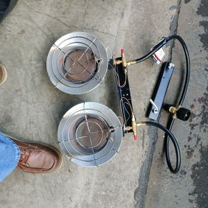 TWO Propane Heater Head Set $$ 30.00 for Sale in Ridgefield, WA
