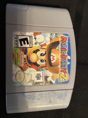 Nintendo 64 n64 Mario party 2 for Sale in Miami, FL