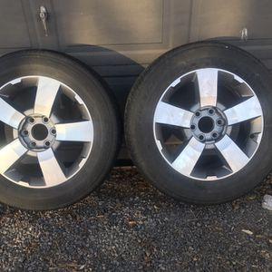 Wheels 2009 GMC Acadia (2) for Sale in Saint Johns, AZ