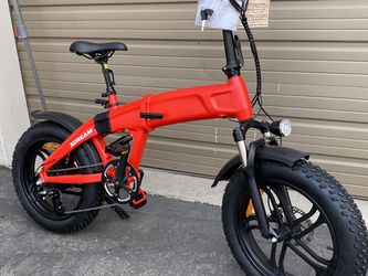 SDREAM X750S - 750 Watts Fat Tire Folding Aluminum Electric Bike in 2 Colors - Brand New for Sale in City of Industry,  CA