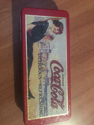 Coca Cola tin box for Sale in San Jose, CA