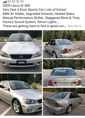 2005 Lexus IS 300 for Sale in Severna Park, MD