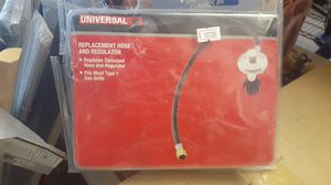 Universal grill/barbecue/bbq hose and regulator for Sale in Sacramento, CA