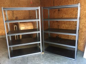Two metal shelves for Sale in Buford, GA
