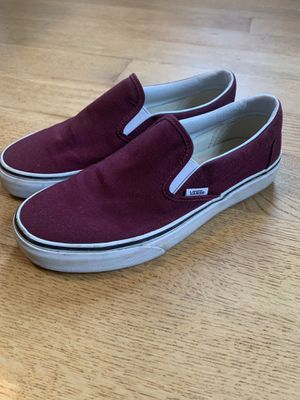 Maroon Vans for Sale in San Diego, CA