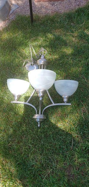 3 light chandelier for Sale in Denver, CO