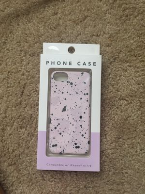 Splatted paint phone case for iPhone 6/7/8 for Sale in Tampa, FL