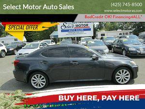 2009 Lexus IS 250 for Sale in LYNNWOOD, WA