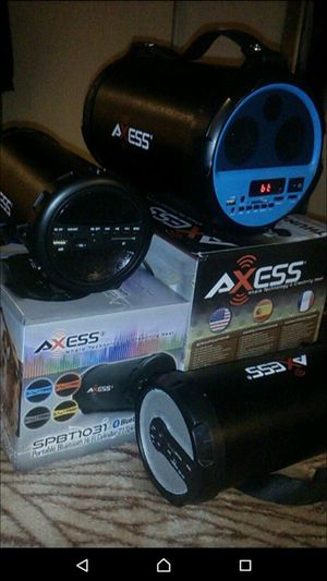 Axess Bluetooth speakers for Sale in West Valley City, UT