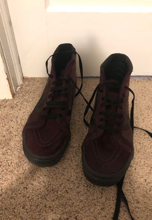 Vans sk8-hi red for Sale in Schenectady, NY