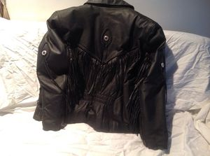 Leather jacket for Sale in Akron, OH