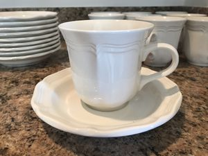 Mikasa French Countryside F9000 Tea Cups w/ Saucers for Sale in Ashburn, VA