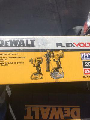 Dewalt 20V XR Hammer Drill / Nut Driver Kit for Sale in Sun City, AZ