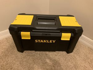 Stanley Plastic Tool Storage Box Container for Sale in Plantation, FL