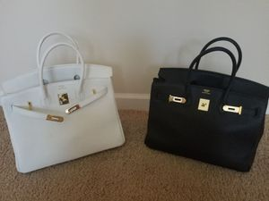 Hermés Bag black and white for Sale in Mableton, GA