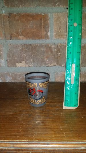 Broken spoke saloon Sturgis shot glass for Sale in Progreso Lakes, TX