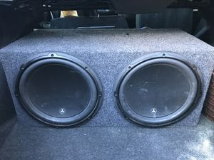 JL Audio with amplifier for Sale in Everett, MA