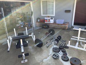 Weight set for Sale in Garden Grove, CA