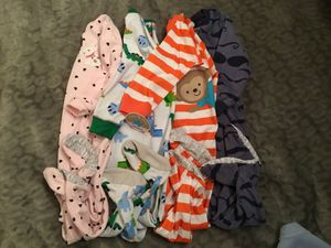 4 NEW Carter's onesies !!! NEW !!! for Sale in Los Angeles, CA