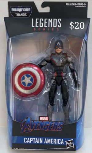 Marvel Legends Quantum Suit Captain America Collectible Action Figure Toy for Sale in Chicago, IL