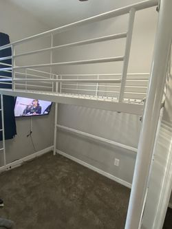 White Full Bunk Bed for Sale in Phoenix,  AZ