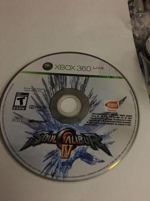 XBOX 360 LIVE SOUL CALIBUR IV for Sale in New Castle, DE