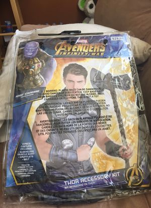 Kids Thor Halloween Costume for Sale in Tacoma, WA