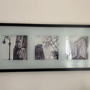 """New York City Frosted Glass Shadow Box Frame 28"""" x 12.5"""" for Sale in Santa Monica, CA"""