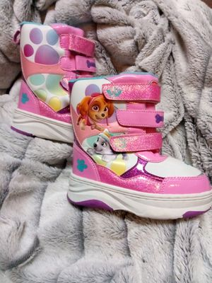 New! Girls Snow Boots Size 9/10, Paw Patrol design for Sale in Federal Way, WA