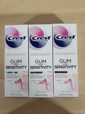 Crest gum and sensitivity toothpaste bundle for Sale in NEW CARROLLTN, MD