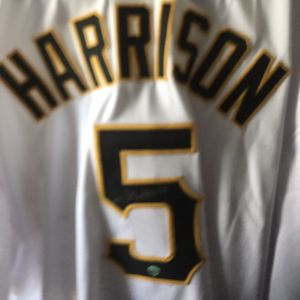 Josh Harrison Pittsburgh pirates autographed uniform comes with a certificate of authenticity for Sale in Cranberry Township, PA