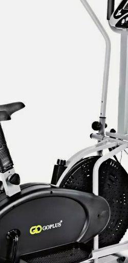 2-in-1 Elliptical Dual Cross Trainer Machine Fan Bike for Sale in Houston,  TX