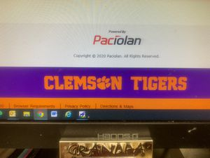 Clemson Tiger vs Virginia Cavaliers for Sale in Greenville, SC